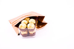 Chocolate gift package Royalty Free Stock Photography