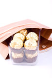 Chocolate gift package Stock Image