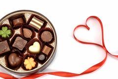Chocolate gift Royalty Free Stock Photo