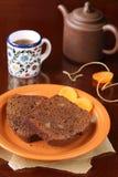 Chocolate Ginger Cake Fotografía de archivo libre de regalías