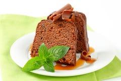 Chocolate ginger cake Royalty Free Stock Image
