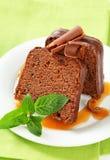 Chocolate ginger cake Stock Image