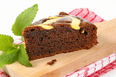 Chocolate gingerbread cake Stock Photo