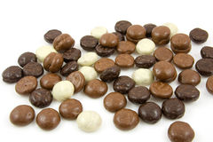 Chocolate gingernuts, pepernoten Royalty Free Stock Photos