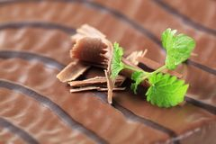 Chocolate glaze Royalty Free Stock Photos