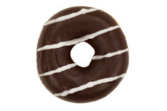 Chocolate Glazed Donut Stock Photography