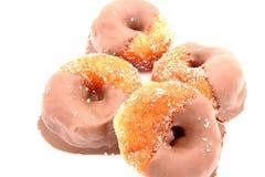 Chocolate Glazed Donuts Royalty Free Stock Photography