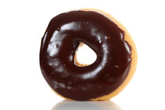 Chocolate Glazed Doughnut Stock Image