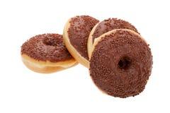 Chocolate glazed doughnut Royalty Free Stock Photography