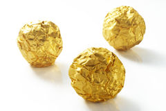 Chocolate gold Royalty Free Stock Image