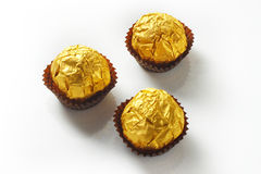 Chocolate gold Royalty Free Stock Photos