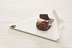 Chocolate gourmet dessert Royalty Free Stock Photos