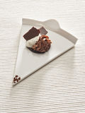 Chocolate gourmet dessert Stock Image