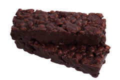 Chocolate grain bar Royalty Free Stock Photo