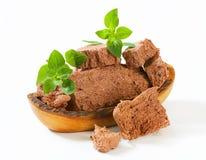 Chocolate halva Stock Images