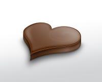 Chocolate Heart Royalty Free Stock Image