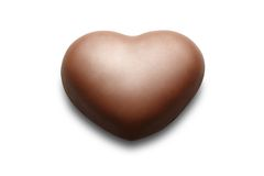 Chocolate heart. Royalty Free Stock Photo