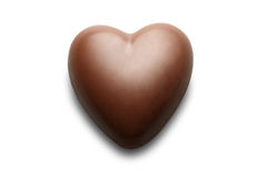 Chocolate heart. Stock Images