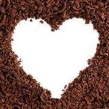 Chocolate Heart Stock Images