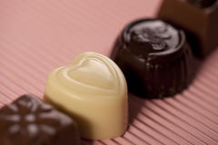 Chocolate heart Royalty Free Stock Photo