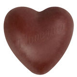 Chocolate heart Royalty Free Stock Photography