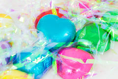 Chocolate heart candies Royalty Free Stock Photos
