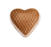 Chocolate heart candy Royalty Free Stock Image