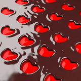 Chocolate heart. Stock Image
