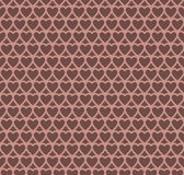 Chocolate heart design pattern background. Vector Illustration EPS10 stock illustration