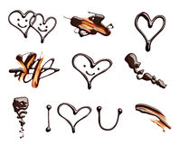 Chocolate heart love valentine day Royalty Free Stock Photography