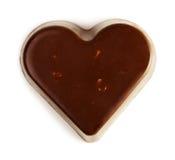 Chocolate heart Royalty Free Stock Photo