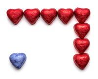 Chocolate hearts Royalty Free Stock Photo