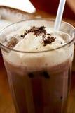 Chocolate helado foto de archivo libre de regalías