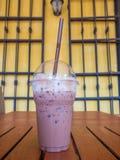 Chocolate helado fotos de archivo