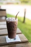 Chocolate helado de la mañana Fotografía de archivo