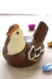 Chocolate hen Royalty Free Stock Photography
