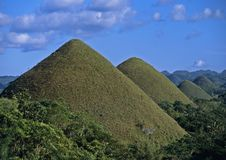 Chocolate Hills #1 Stock Image
