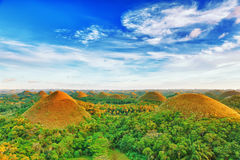 Chocolate Hills. View of The Chocolate Hills. Bohol, Philippines Stock Photos