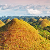 Chocolate Hills. View of The Chocolate Hills. Bohol, Philippines Stock Photography