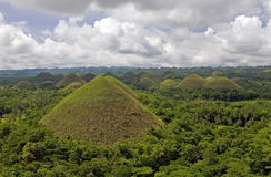 Philippines - Chocolate Hills Stock Photography