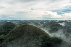 Chocolate hills in Bohol Royalty Free Stock Photography