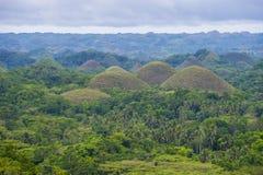 Chocolate hills , Bohol Royalty Free Stock Image