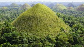 Chocolate Hills, Bohol Island, Philippines Stock Photos