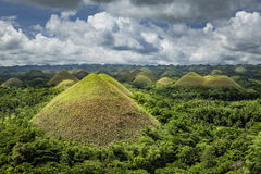 Chocolate Hills of Bohol Island, Philippines Stock Photo