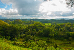 Chocolate Hills, Bohol Island, Philippines. Southeast Asia Stock Images
