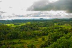 Chocolate Hills, Bohol Island, Philippines. Southeast Asia Royalty Free Stock Image