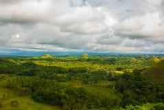 Chocolate Hills, Bohol Island, Philippines. Southeast Asia Royalty Free Stock Photos