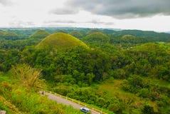 Chocolate Hills, Bohol Island, Philippines. Southeast Asia Stock Photo
