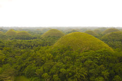 Chocolate Hills in Bohol Philippines Royalty Free Stock Images