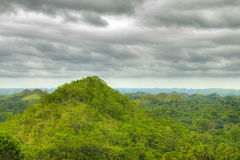 Chocolate Hills in Bohol Philippines Stock Photo
